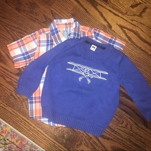Janie and Jack Sweater Size 2T